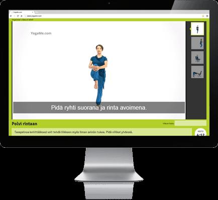 YogaMe toimii kaikilla päätelaitteilla